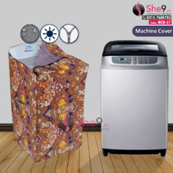 Colorful Washing Machine Cover