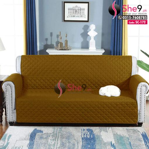 Dusty Golden Sofa Coat
