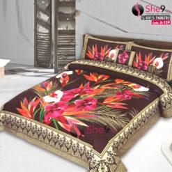 Black Floral Bedsheets