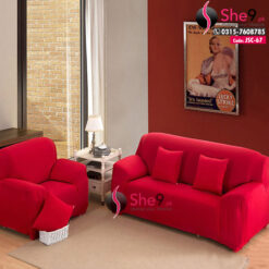 Red Fitted Sofa Covers