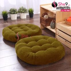 Floor Cushion in Round Shape