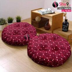 Ajrak Printed Floor Cushions